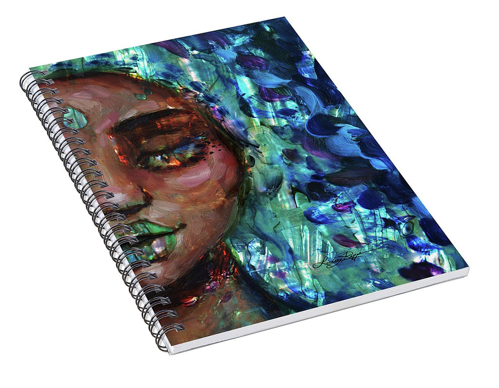 """Aquamarine"" Spiral Notebook"