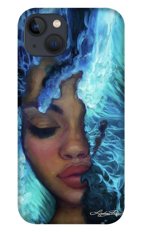 """Waves of Introspection"" iPhone Case"