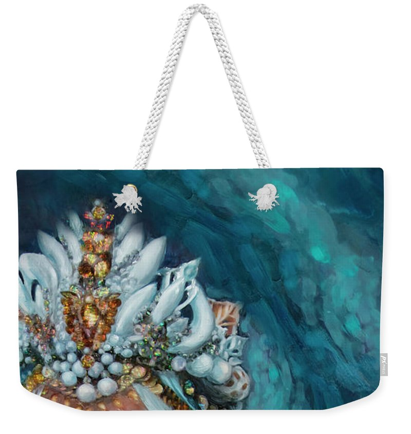 """Sea Queen Crown"" Tote Bag"