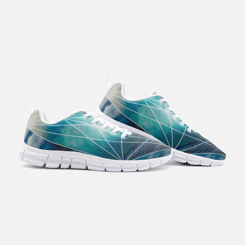 """Flux & Flow"" Athletic Sneakers"