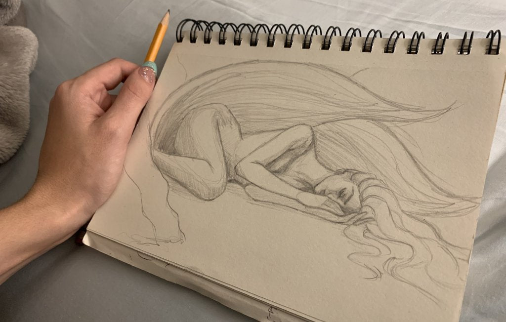 Dreaming <br/> Original Sketch