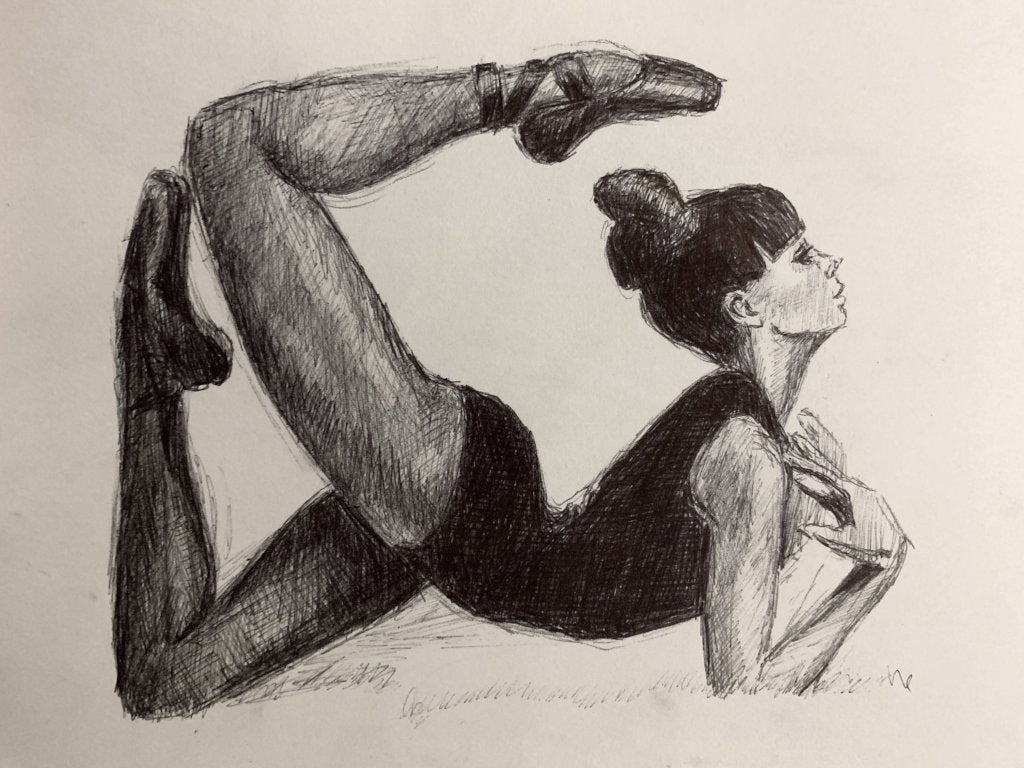 """Pointe"" <br/> Original Sketch"