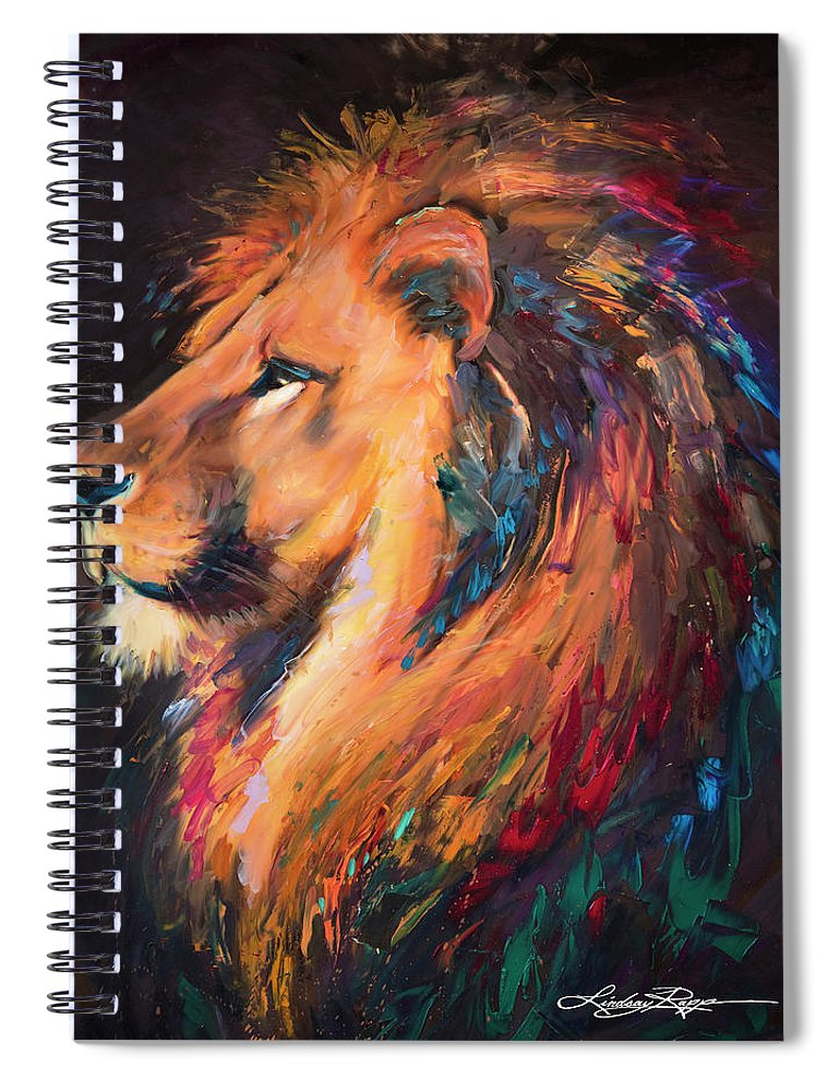 """Majestic"" Spiral Notebook"