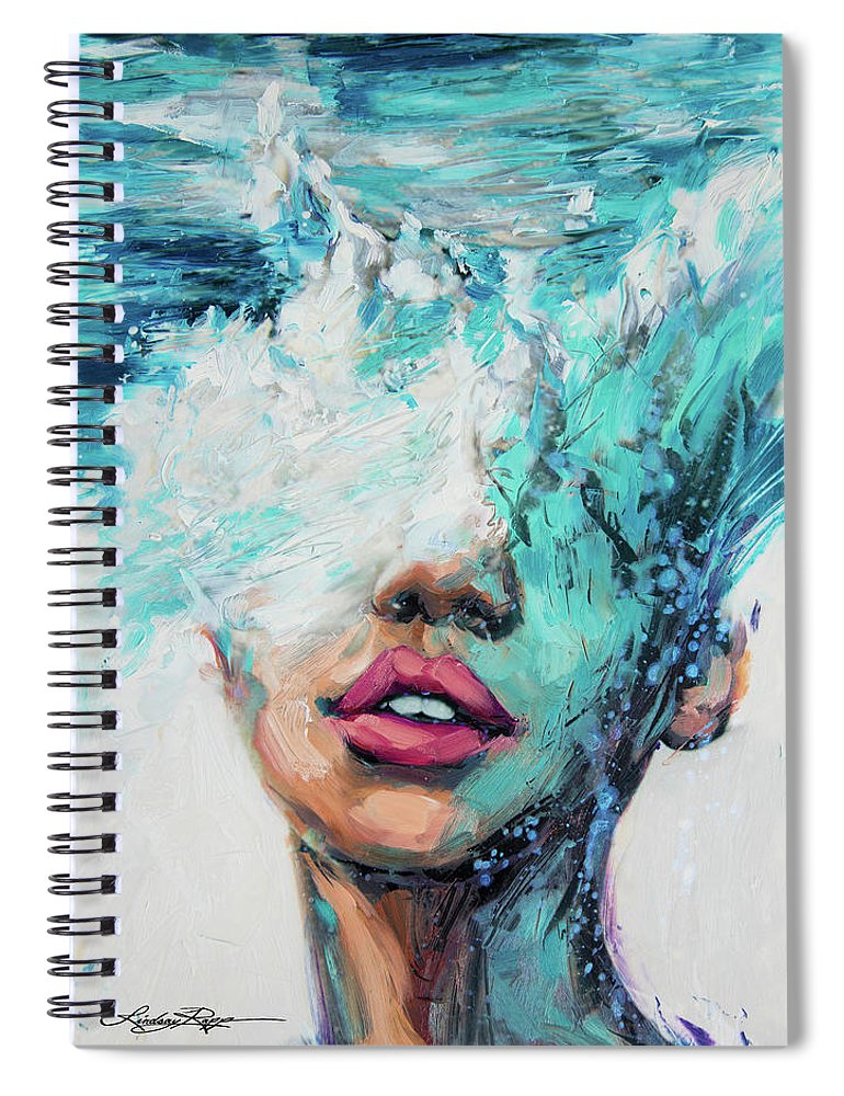 """MerMind"" Spiral Notebook"