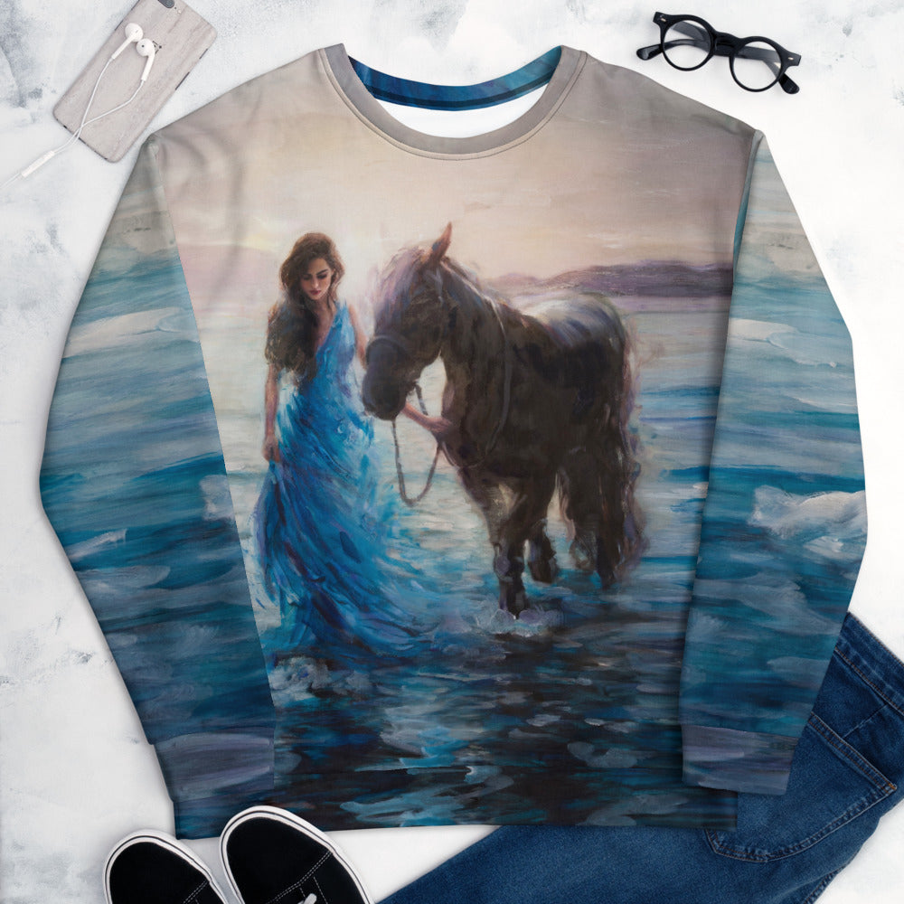 """Morning Through the Stars"" Sweatshirt"