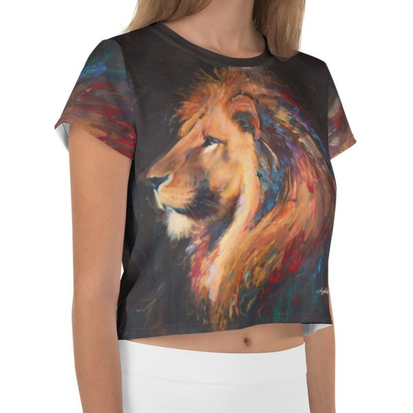 """Majestic"" Crop Top"