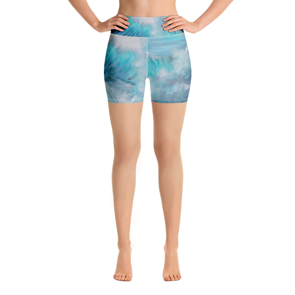 """Venus"" Yoga Shorts"