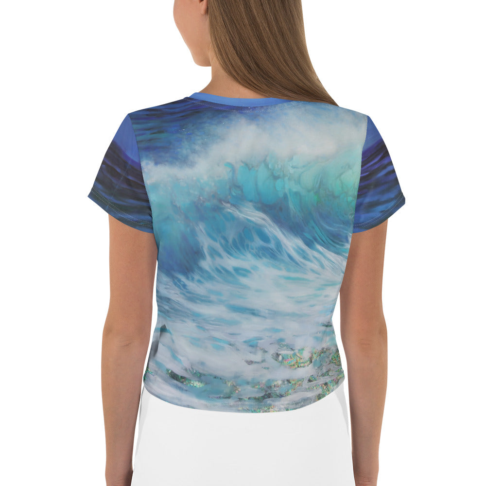 """Summer Wave"" Crop Top"