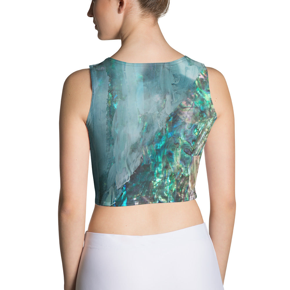 """Ephemeral"" Crop Tank"