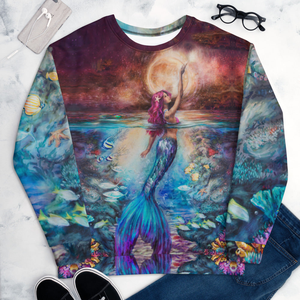 """Moonlit Siren"" Sweatshirt"