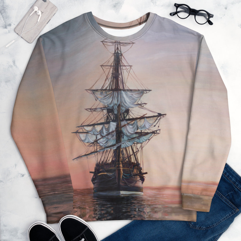 """Sunset Arrival"" Sweatshirt"