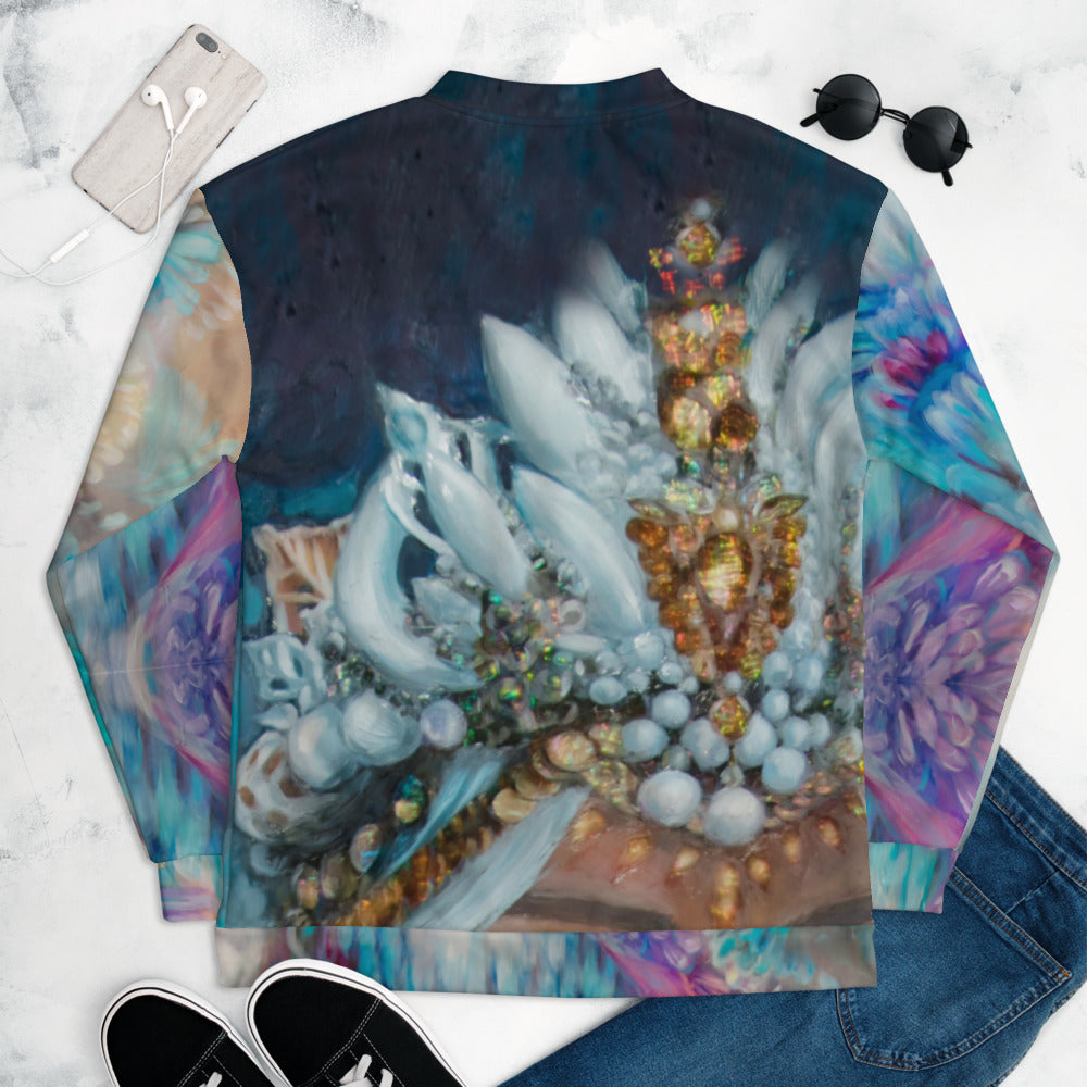 """Sea Queen"" Bomber Jacket"