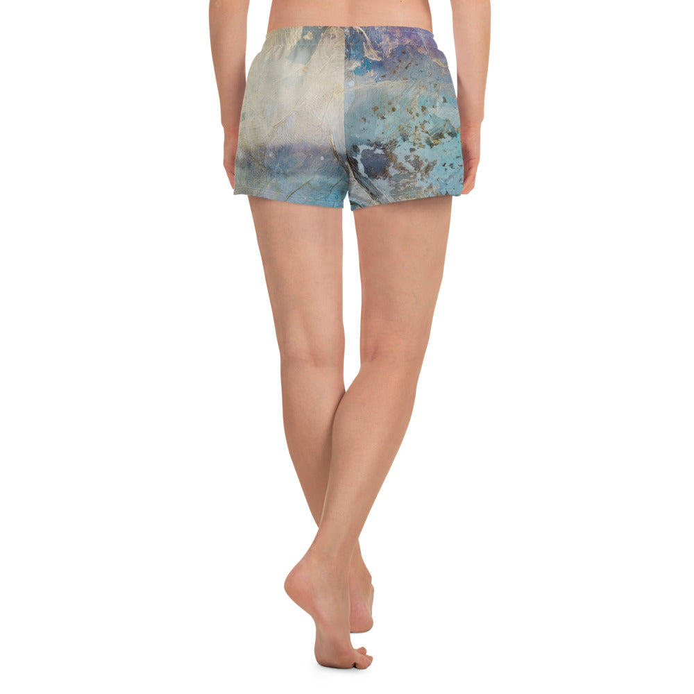 """Coral Break"" Athletic Shorts"