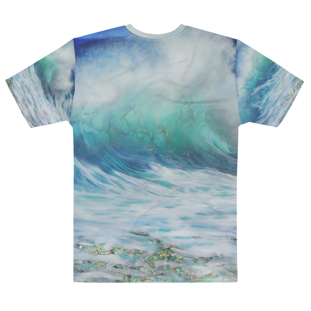 """Summer Wave"" Detail Boyfriend-Fit T-shirt"