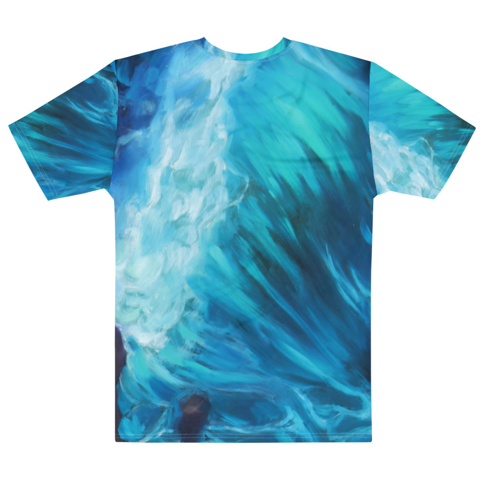"""Waves of Introspection"" Boyfriend-Fit T-shirt"
