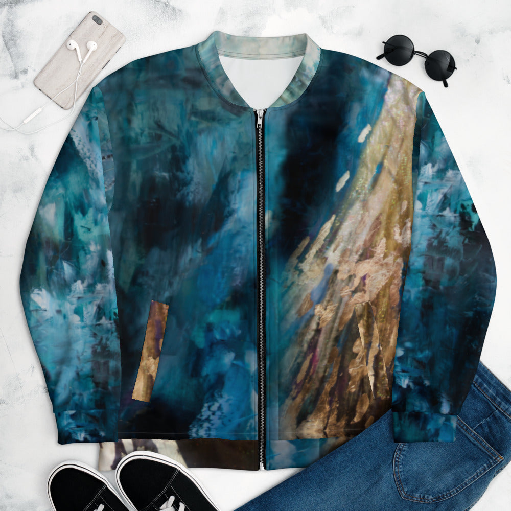 """Luminescence"" Bomber Jacket"