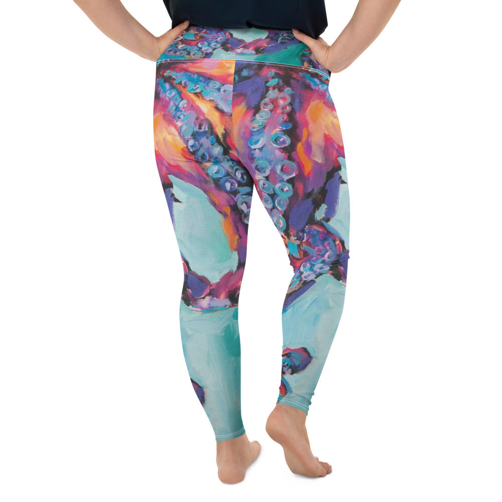 """Octopus"" Plus Size Leggings"