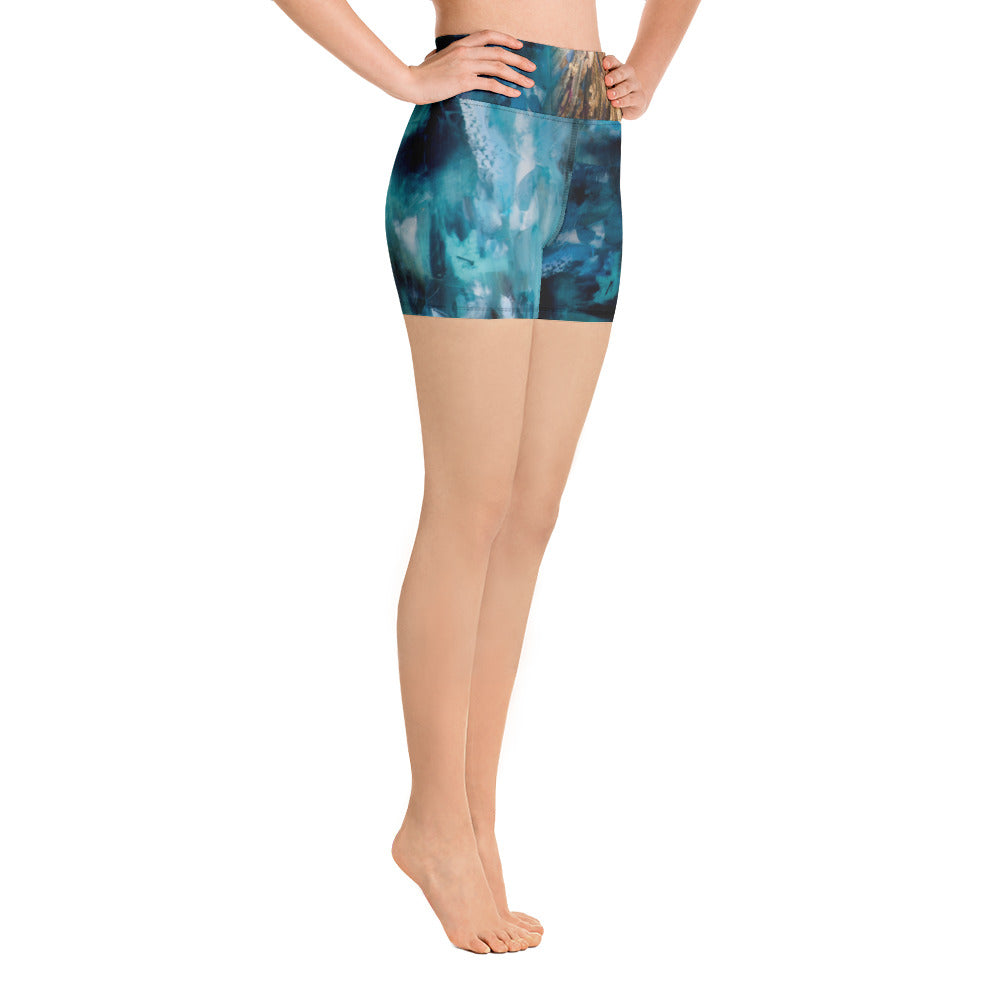 """Luminescence"" Yoga Shorts"