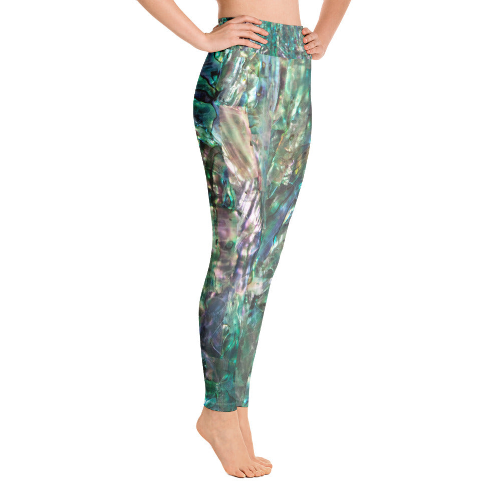 """Emerald"" Detail Yoga Leggings"