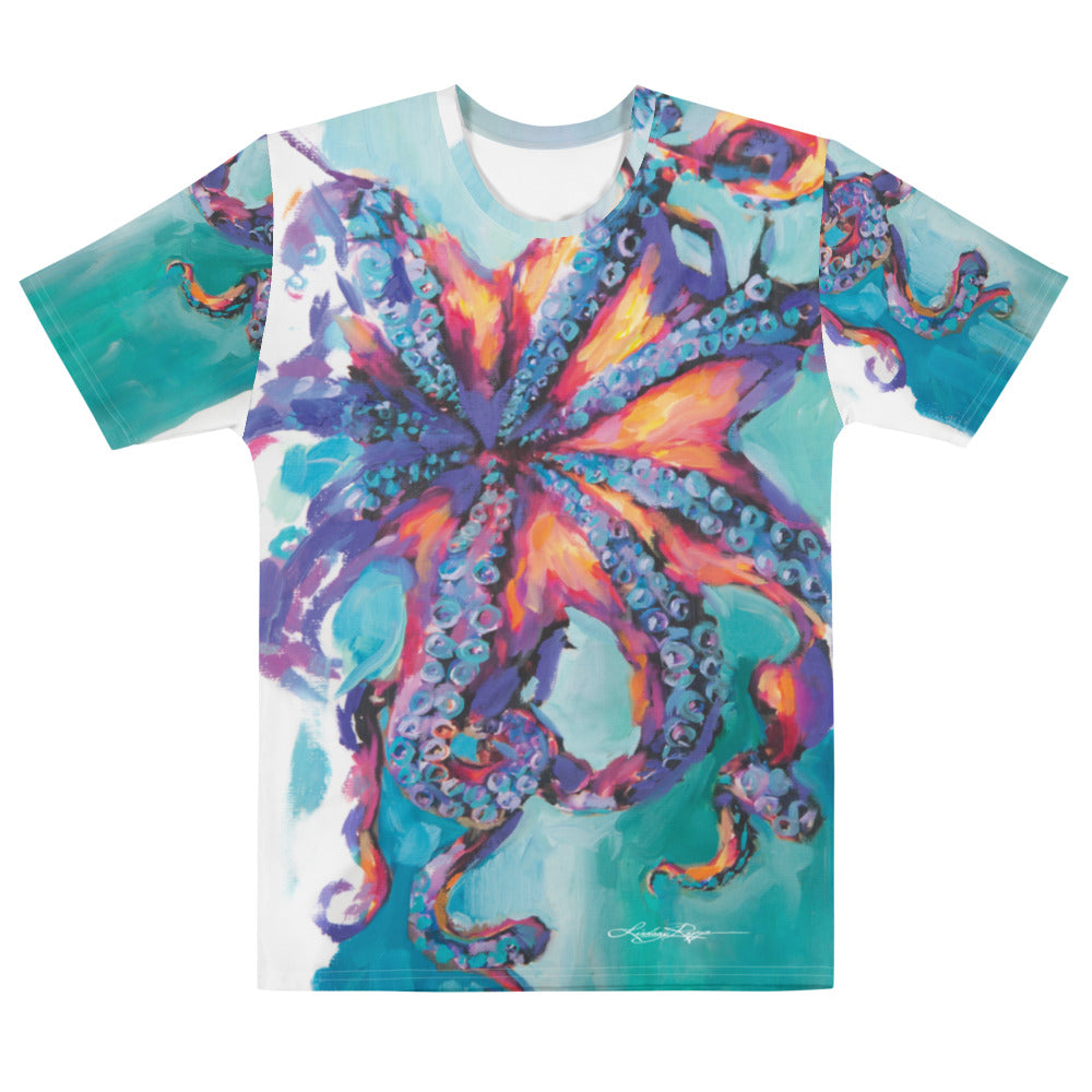 """Octopus"" Boyfriend-Fit T-shirt"