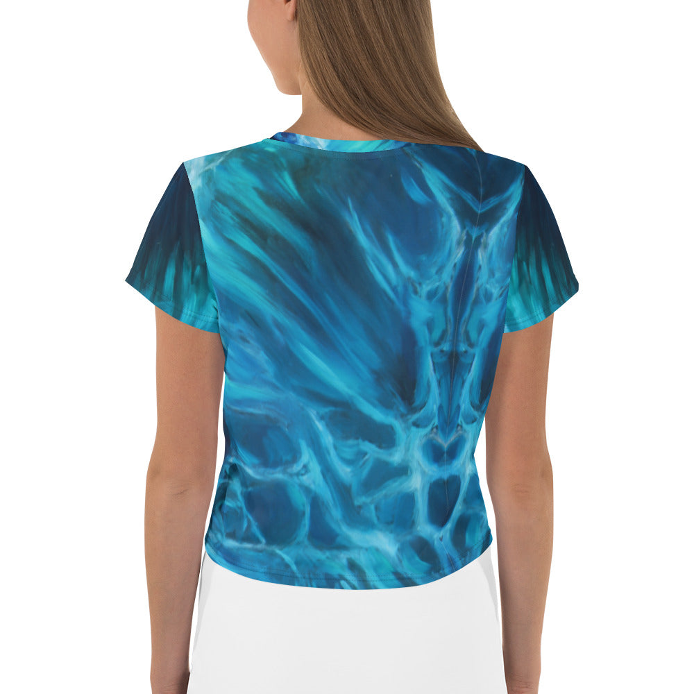 """Waves of Dreams"" Crop Top"