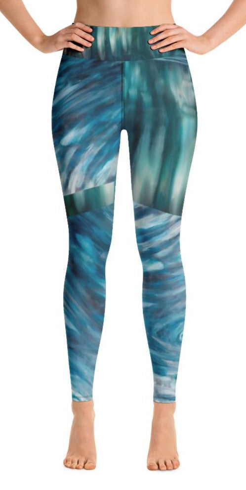 """Arabesque"" Yoga Leggings"