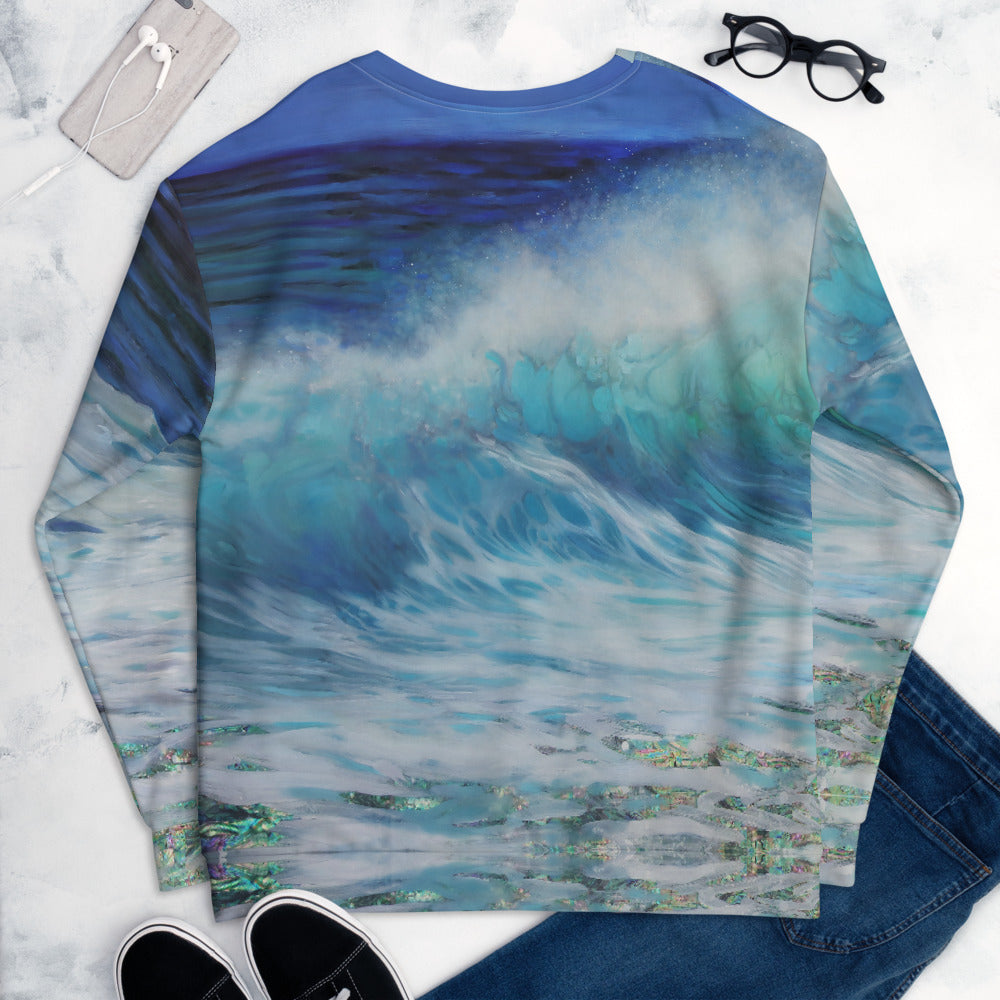 """Summer Wave"" Sweatshirt"