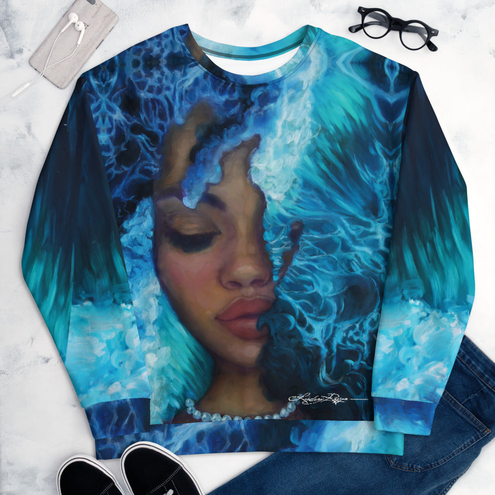 """Waves of Introspection"" Sweatshirt"