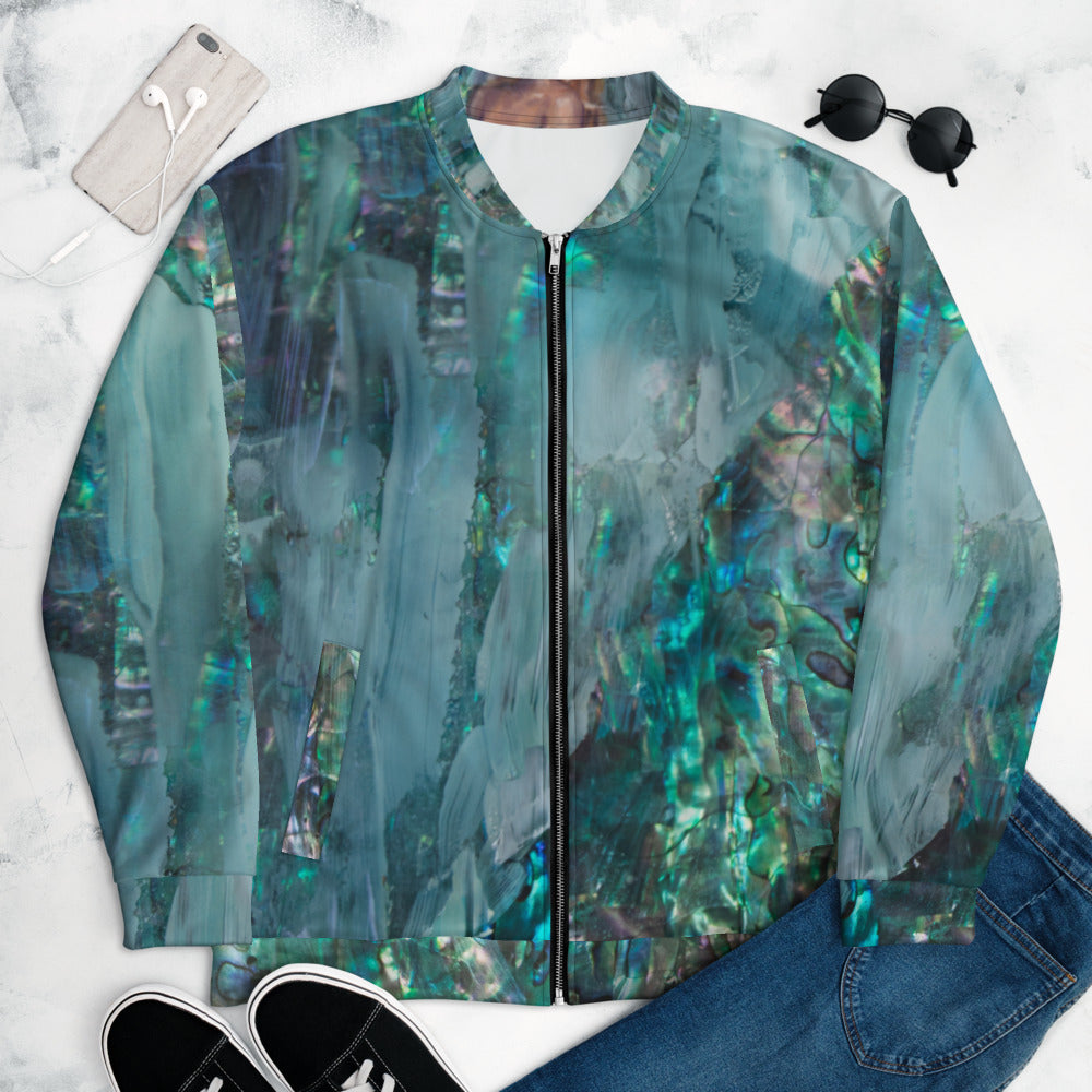 """Emerald"" Bomber Jacket"