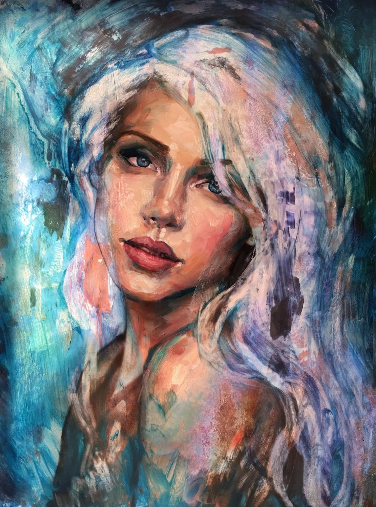 Lindsay rapp magic femininity paintings artpeople net for Tumblr painting art