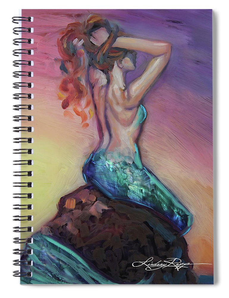 """Quiet Reverie"" Spiral Notebook"