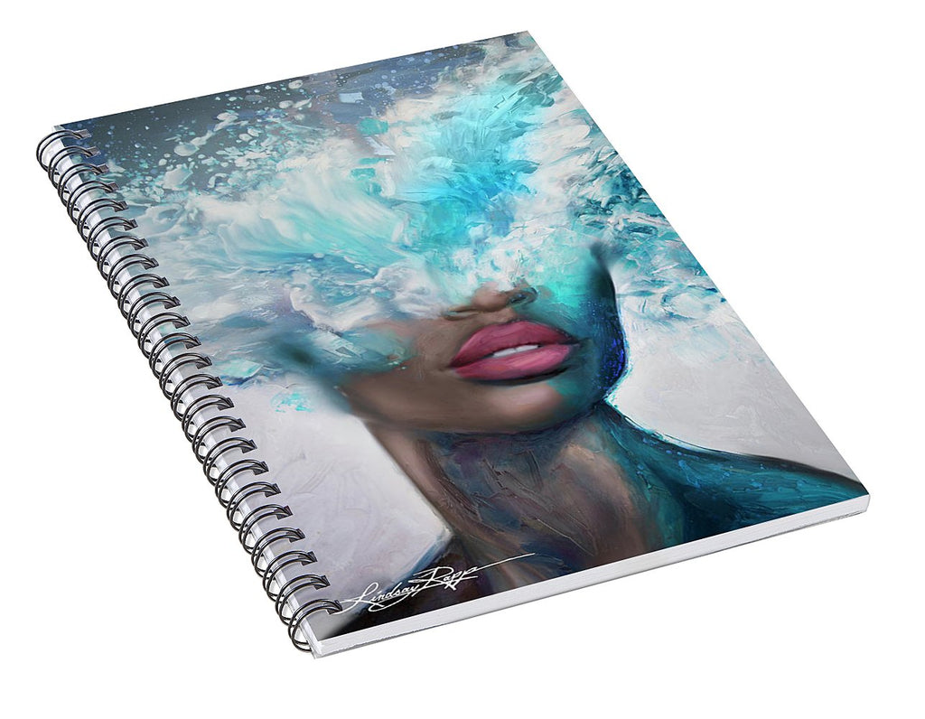 """Sea of Thoughts"" Spiral Notebook"