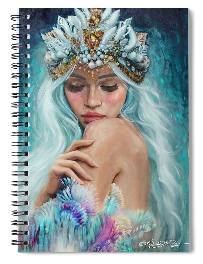 """Sea Queen"" Spiral Notebook"