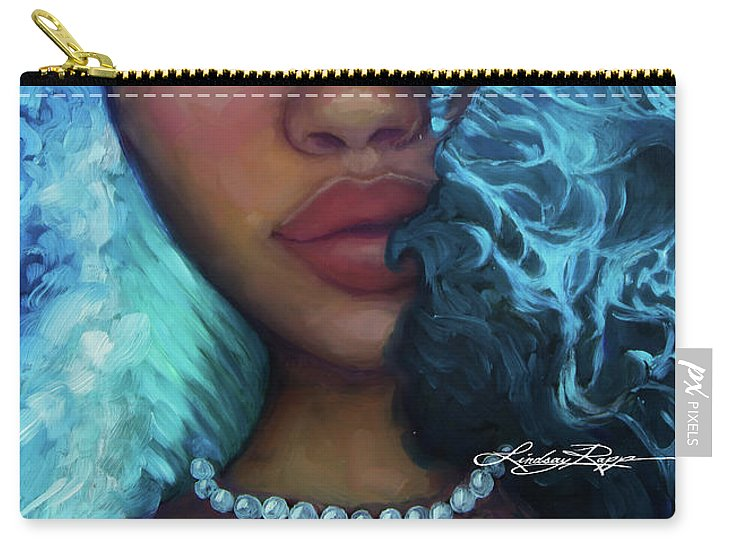 """Waves of Introspection"" Pouch"