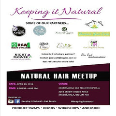 NIGHT FLOWER at Keeping it Natural Hair Meetup