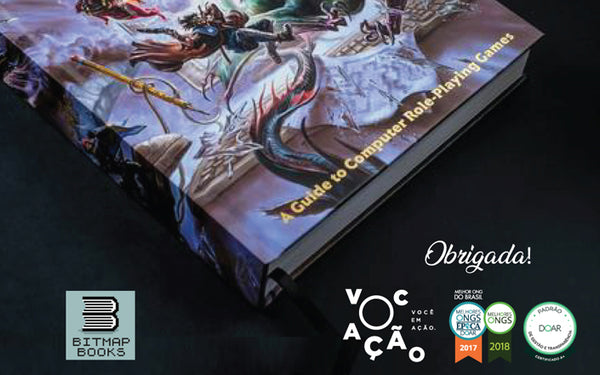 A huge thanks from Vocação! (The CRPG Book)