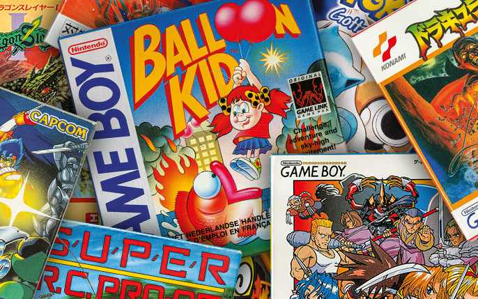 A Cover Story: Japanese and Western Game Boy Box Art