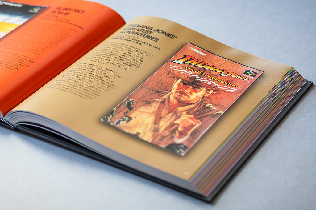 Indiana Jones Game Box Art Book