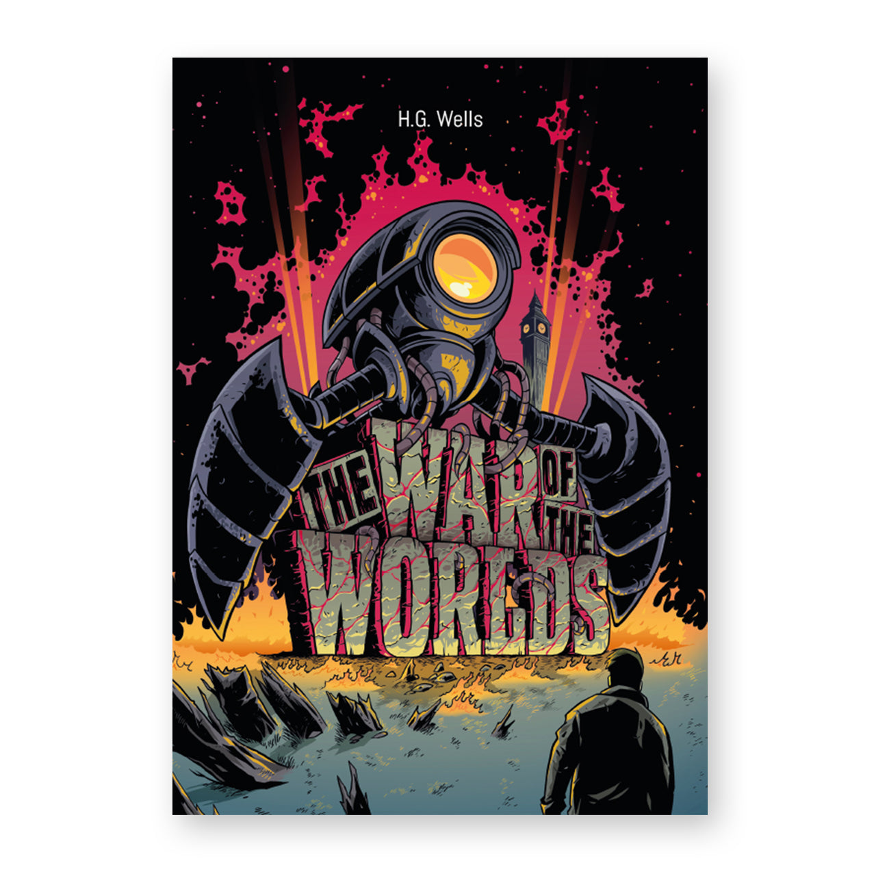 H.G. Wells: The War of the Worlds Illustrated