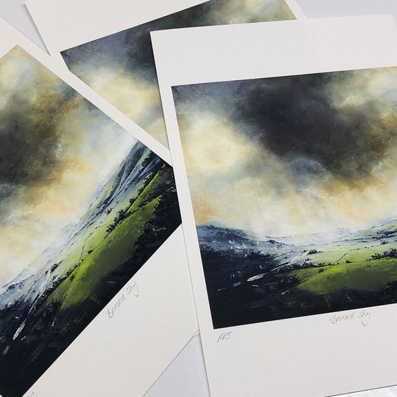 Bruised sky printer's proof