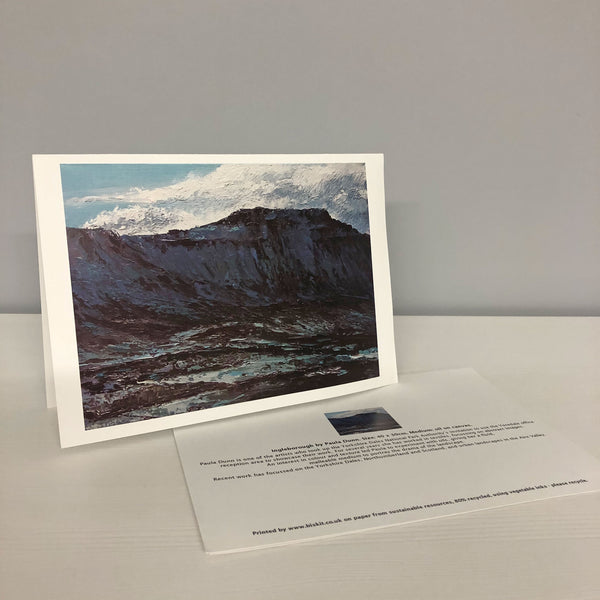 Ingleborough Greetings Card