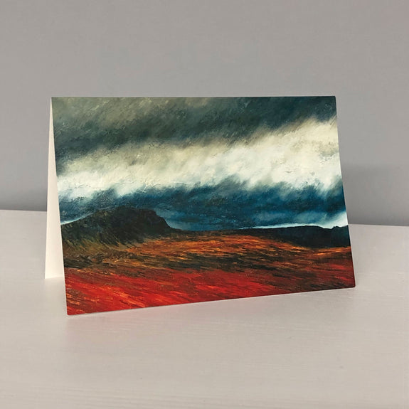 Pen-y-gent Greetings Card