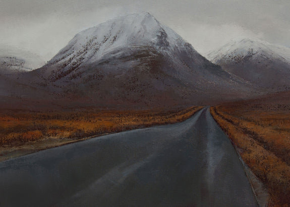 Christmas Card: Road to Glen Etive