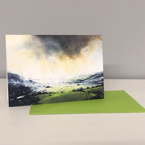 Bruised Sky Greetings Card