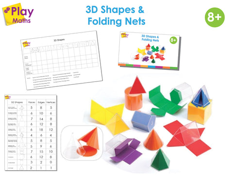 3D SHAPES AND FOLDING NETS GAME*