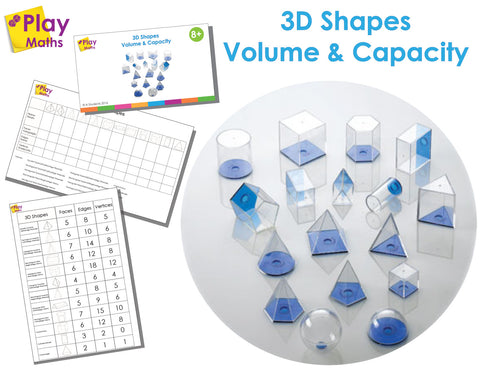 3D SHAPES VOLUME & CAPACITY GAME*