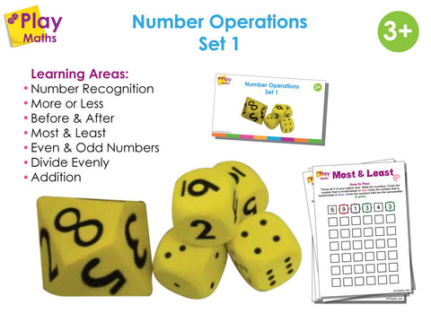 Number Operations Game - Set 1