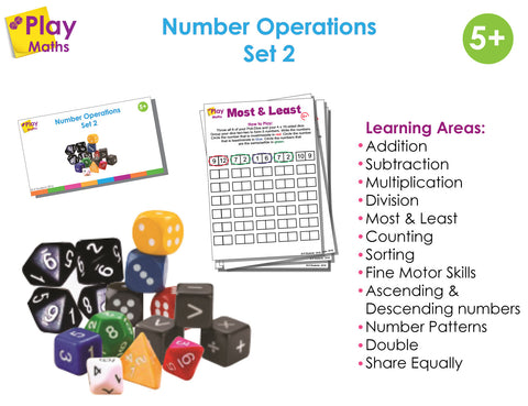 Number Operations Game - Set 2