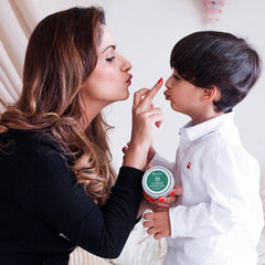 mother and baby with All Purpose Coconut Balm