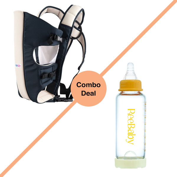 2-in-1 Baby Carrier & Bottle COMBO